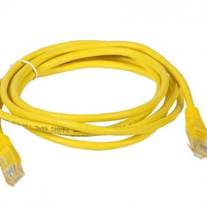 cable de red rj45 amarillo