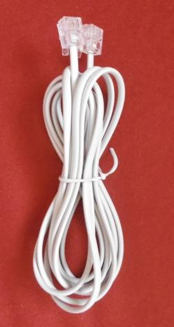 cable rj11 blanco