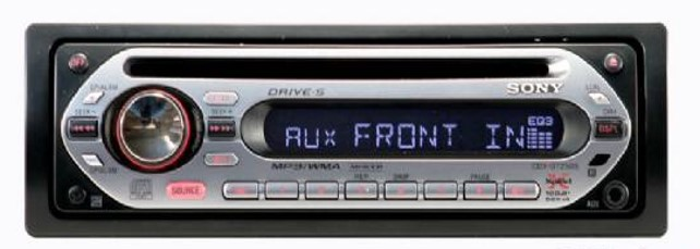 Autoestereo sony xplode CDX-GT250S