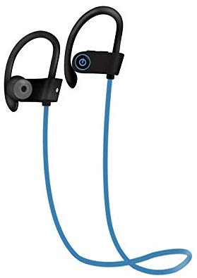 audifonos bluetooth ipx7 azules