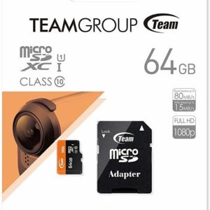 Micro USB Team Group 64GB Clase 10