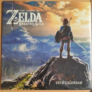 Calendario Zelda Breath of the Wild 2019