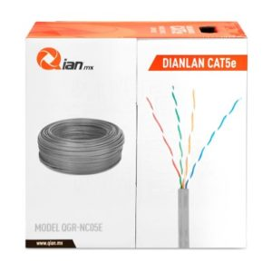 Bobina de Cable UTP Cat 5e 305m Gris