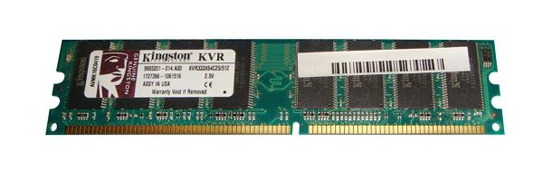 Memoria Ram Kingston DDR 512Mb 333Mhz