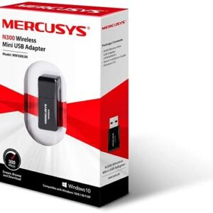 Adaptador Wifi Usb Mercusys 300Mbps