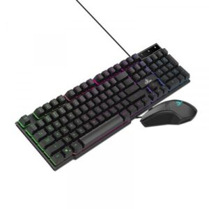 Kit Teclado y Mouse Gamer Yeyian RGB Usb